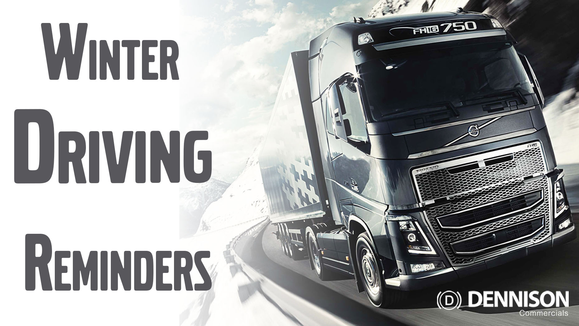 HGV Driving Reminders for Winter Roads