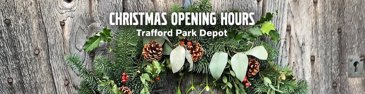 Christmas Opening Hours - Trafford Park Depot