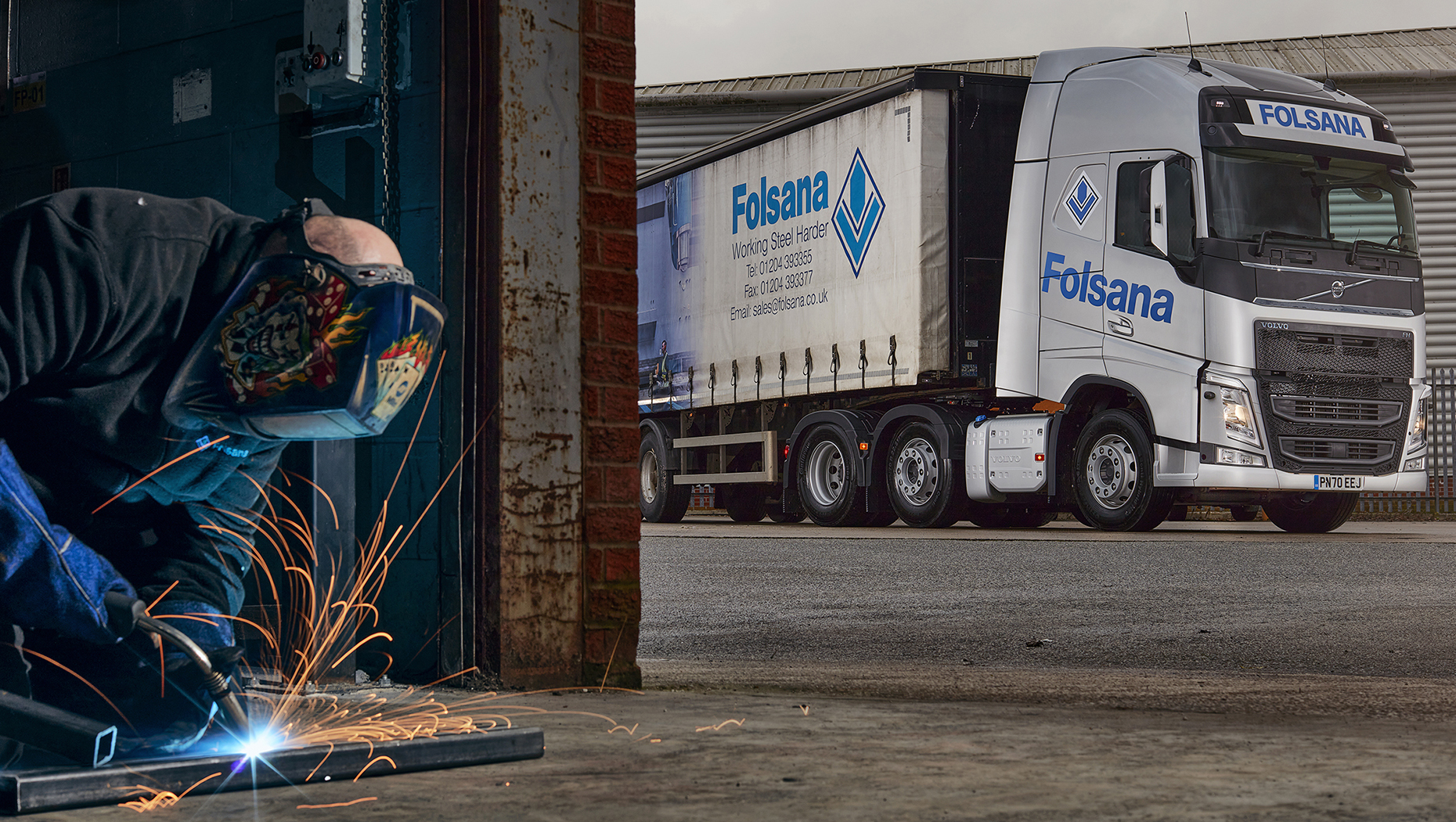 Folsana pressed sections upgrades with new Volvo FH