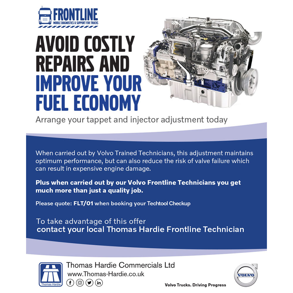 Truck Frontline Healthy Savings from Thomas Hardie Commercials Ltd
