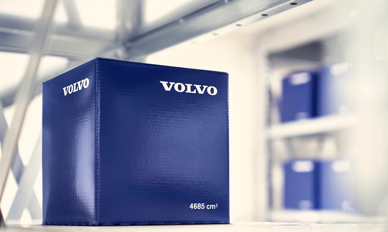 Genuine Volvo Parts Blue Box