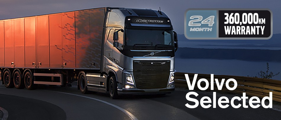 Volvo Used Trucks Selected Warranty