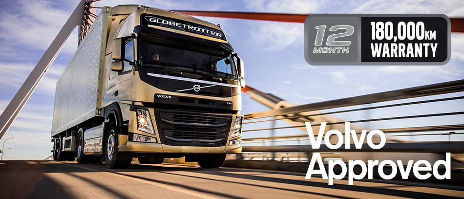 Volvo Used Trucks Approved Warranty