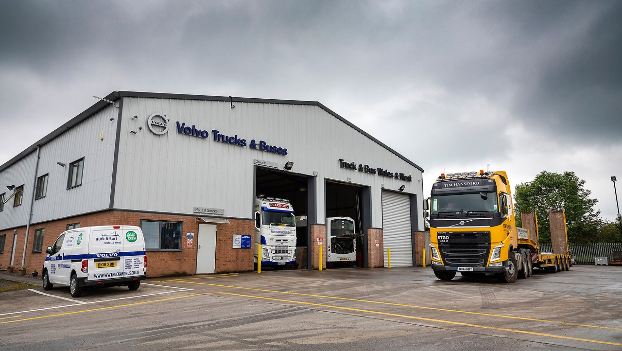 Welcome to Truck and Bus Wales and West
