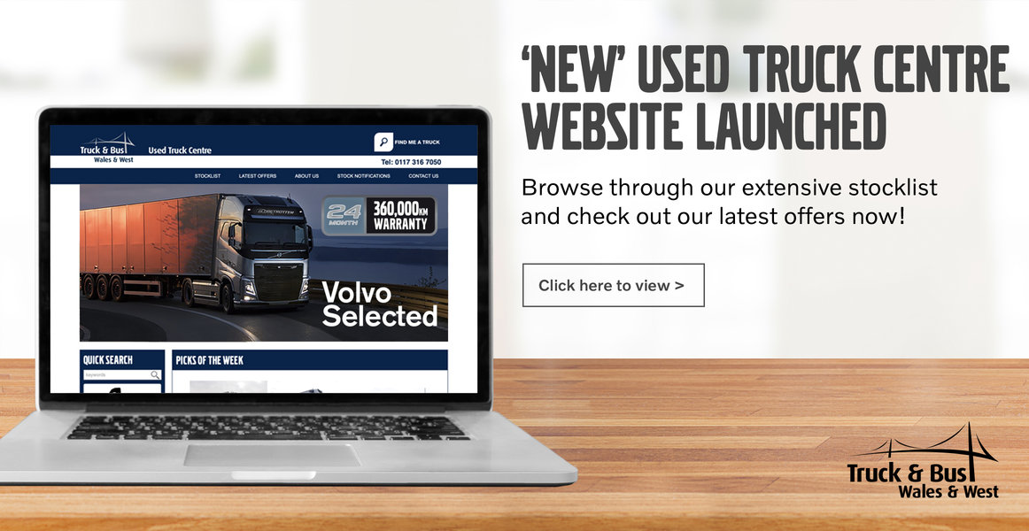 Wales and West Used Trucks website